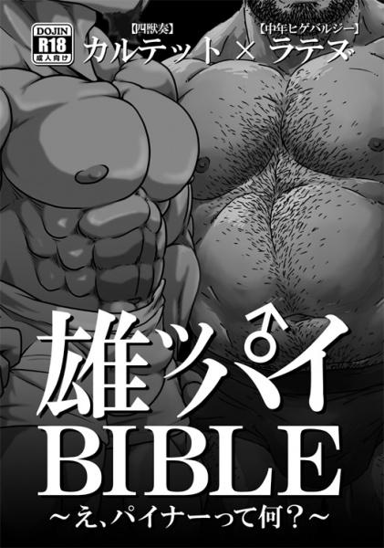 雄ッパイBIBLEの表紙